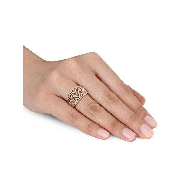 ソナティナ レディース リング アクセサリー 14K Yellow Gold & Diamond Filigree Flame Ring Gold