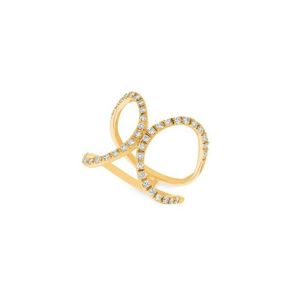 モリスアンドデイビッド レディース リング アクセサリー 14K Yellow Gold & Diamond Ring Gold