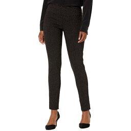 エリオットローレン レディース カジュアルパンツ ボトムス Cobblestone Pull-On Ankle Pants with Back Slit Detail Black/Chocolate