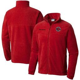 コロンビア メンズ ジャケット&ブルゾン アウター Toronto Raptors Columbia Big & Tall Steens Mountain 2.0 FullZip Jacket Red