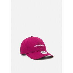 カルバンクライン レディース 帽子 アクセサリー MONOGRAM - Cap - dark clove