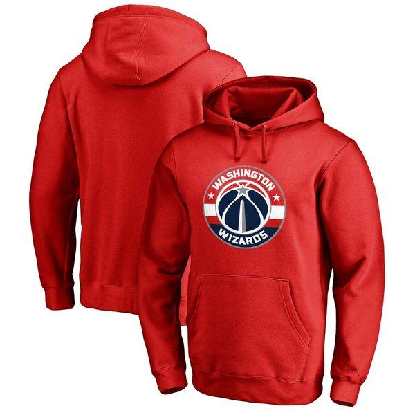 トップス, パーカー  Washington Wizards Fanatics Branded Primary Logo Pullover Hoodie Red