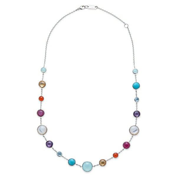 イッポリスタ レディース ネックレス・チョーカー・ペンダントトップ アクセサリー Ippolita Semiprecious Stone Collar Necklace Rainbow