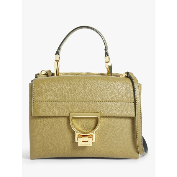 レディースバッグ, ショルダーバッグ・メッセンジャーバッグ  Coccinelle Arlettis Small Leather Shoulder Bag Moss Green