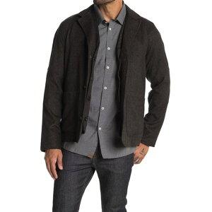 ビリーレイド メンズ ジャケット&ブルゾン アウター Clemence Dickey Vest & Jacket 2-Piece Set DARK BROWN