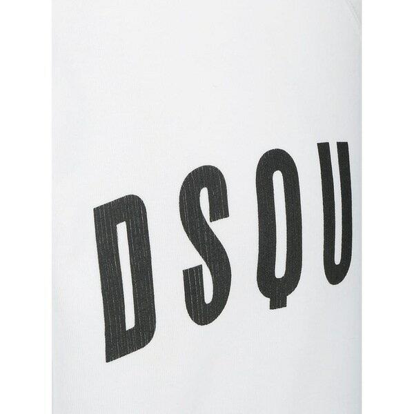 ディースクエアード メンズ パーカー・スウェットシャツ アウター Dsquared2 Sweatshirt White