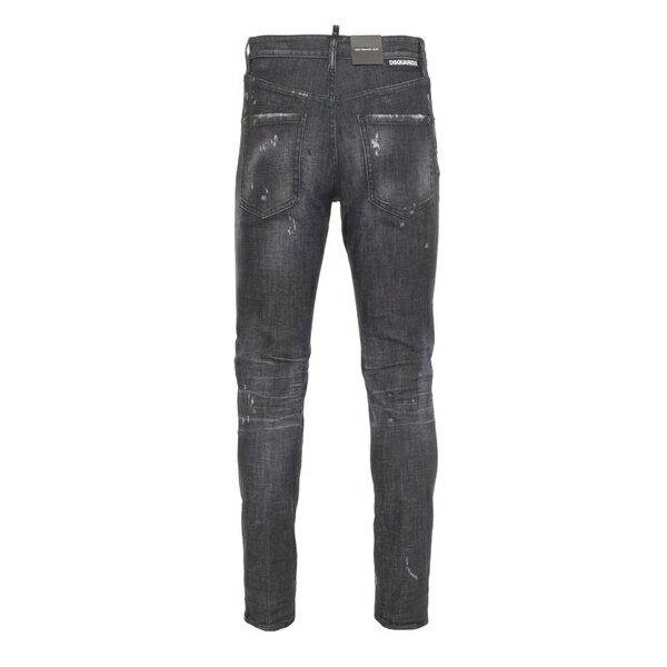 ディースクエアード メンズ デニムパンツ ボトムス Dsquared2 Jeans Grey