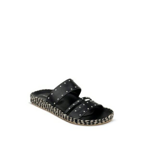 ランページ レディース サンダル シューズ Ada Stud Embellished Sandal BLACK MATTE画像