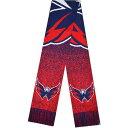 フォコ メンズ マフラー・ストール・スカーフ アクセサリー Washington Capitals Big Logo Knit Scarf Unknown
