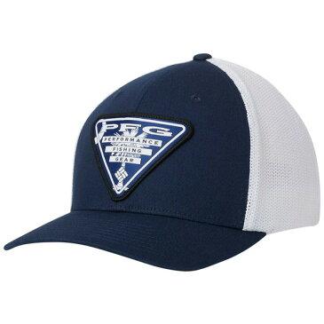 コロンビア メンズ 帽子 アクセサリー Columbia Men's PFG Mesh Stateside Ball Cap CollegiateNvy/SCTriangl