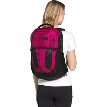 ノースフェイス レディース バックパック・リュックサック バッグ Recon 30L Backpack - Women's Dramatic Plum Ripstop/TNF Black