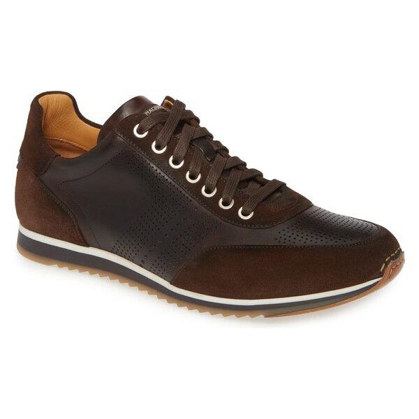 マグナーニ メンズ スニーカー シューズ Magnanni 'Pueblo' Sneaker (Men) Marrone Leather