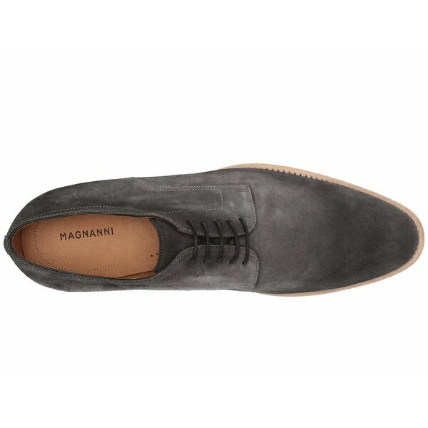 Magnanni Bolsena Derby Oxfords Mens Size 7 M Lace Up Gray Suede Leather NEW