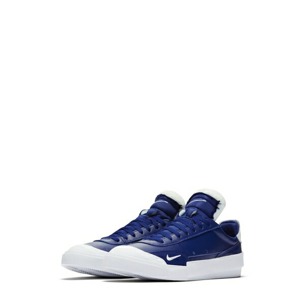 ナイキ メンズ スニーカー シューズ Drop-Type Premium Sneaker Deep Royal Blue/ Black/ White画像