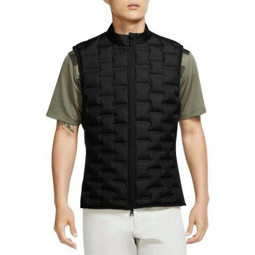 ナイキ メンズ ジャケット&ブルゾン アウター Nike Men's AeroLoft Repel Golf Vest Black