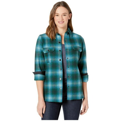スマートウール レディース コート アウター Anchor Line Shirt Jacket Everglade