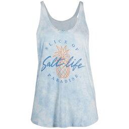ソルトライフ レディース カットソー トップス Women's Slice Of Paradise Tie-Dye Tank Top Airy Blue