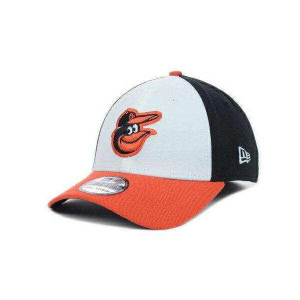 メンズ帽子, キャップ  Baltimore Orioles MLB Team Classic 39THIRTY Stretch-Fitted Cap WhiteBlackOrange