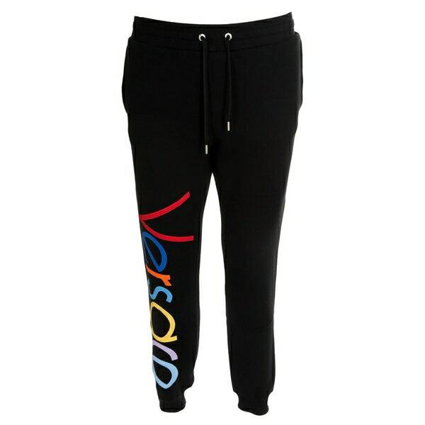 ヴェルサーチ メンズ カジュアルパンツ ボトムス Versace Logo Track Pants -