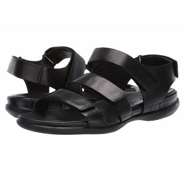 サンダル, コンフォートサンダル  Flash Flat Sandal Black Cow Nubuck