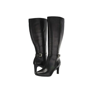 أحذية رالف لورين للنساء وأحذية المطر أحذية Eastwell Wide Calf Black