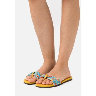 ハワイアナス レディース サンダル シューズ YOU TROPEZ - T-bar sandals - mustard odof00d2