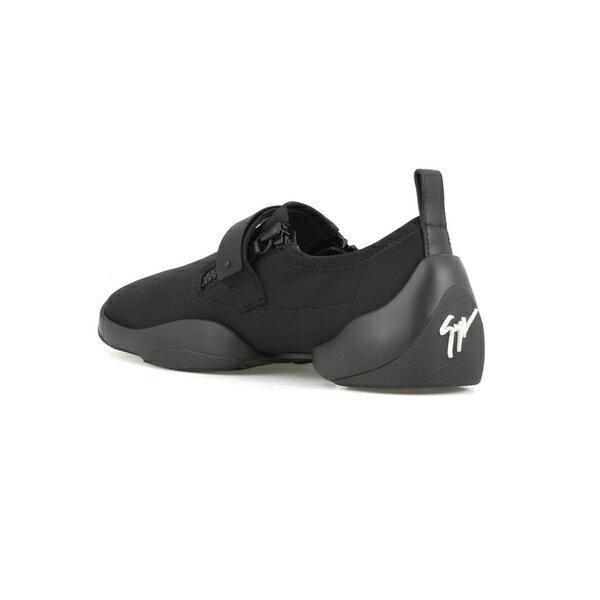 ジュゼッペザノッティ メンズ スニーカー シューズ Giuseppe Zanotti Light Jump Sneaker Black