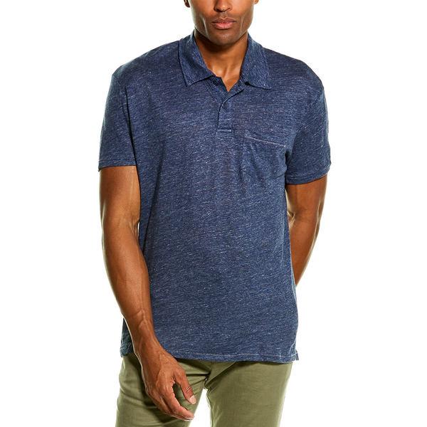 トップス, Tシャツ・カットソー  T Grayers Soldano Linen Pocket T-Shirt navy