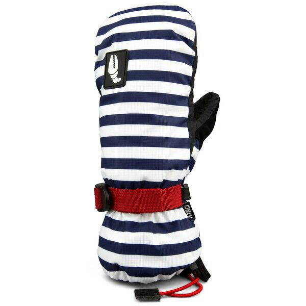 クラブグラブ レディース 手袋 アクセサリー Crab Grab Cinch Mitts - Women's Navy Stripe
