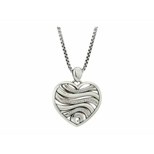 ブライトン レディース ネックレス・チョーカー・ペンダントトップ アクセサリー Oceanus Heart Necklace Crystal