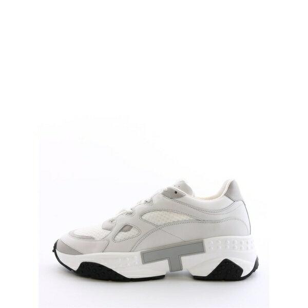 トッズ メンズ スニーカー シューズ Tod's White Sneaker White