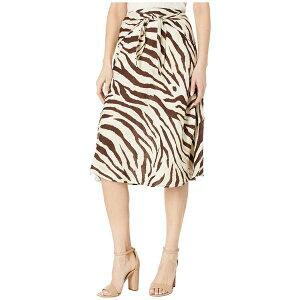 ラルフローレン レディース スカート ボトムス Linen A-Line Skirt Dark Brown