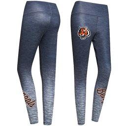 コンセプトスポーツ レディース カジュアルパンツ ボトムス Cincinnati Bengals Concepts Sport Women's Flyaway Knit Sublimated Leggings Charcoal