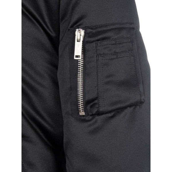 ベンタベルニティ メンズ ジャケット&ブルゾン アウター Unravel Sateen Openside Tuxedo Bomber Jacket BLACK