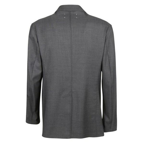 マルタンマルジェラ メンズ ジャケット&ブルゾン アウター Maison Margiela Double Breasted Blazer Grey
