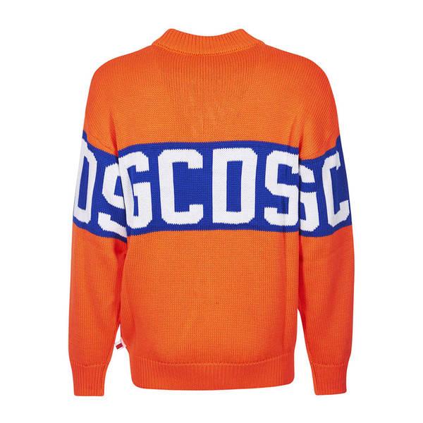 ジーシーディーエス メンズ ニット&セーター アウター GCDS Logo Striped Sweater -