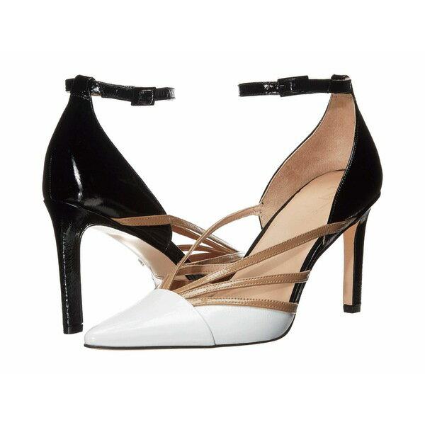 レディース靴, ミュール  27 Edit Abree Black Multi Crinkle Patent Leather