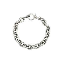 シェリルロエ レディース ブレスレット・バングル・アンクレット アクセサリー Chain Link Bracelet Silver