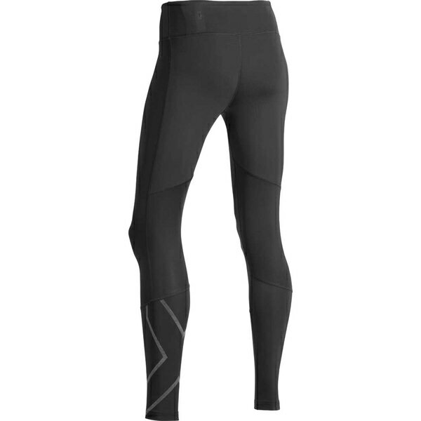 2XU レディース レギンス ボトムス Run Mid Rise Compression Tight Black/ Black Reflective