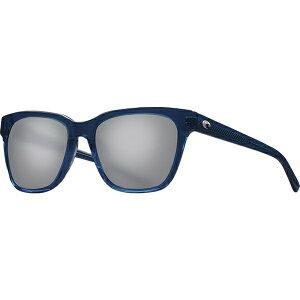 コスタ レディース サングラス&アイウェア アクセサリー Coquina 580G Polarized Sunglasses - Women's Shiny Deep Teal Crystal Frame/Gray