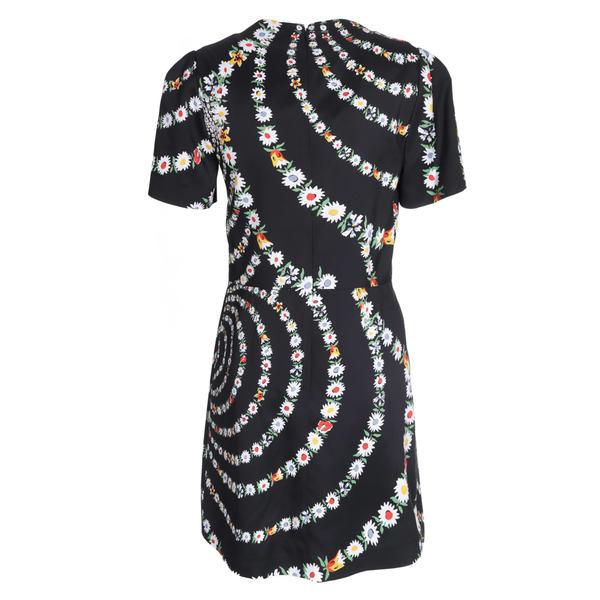 ジバンシー レディース ワンピース トップス Givenchy Floral Swirls Print Dress -