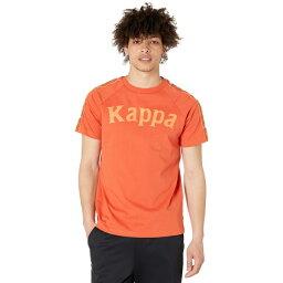 カッパ メンズ シャツ トップス 222 Banda Deto Orange/Orange Dusty/White