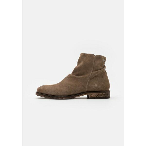 ジャック アンド ジョーンズ メンズ ブーツ&レインブーツ シューズ JFWRUKKA ZIP BOOT PIRATE - Classic ankle boots - greige