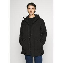 ミニマム メンズ コート アウター LYNGDAL - Winter coat - black szjb0028