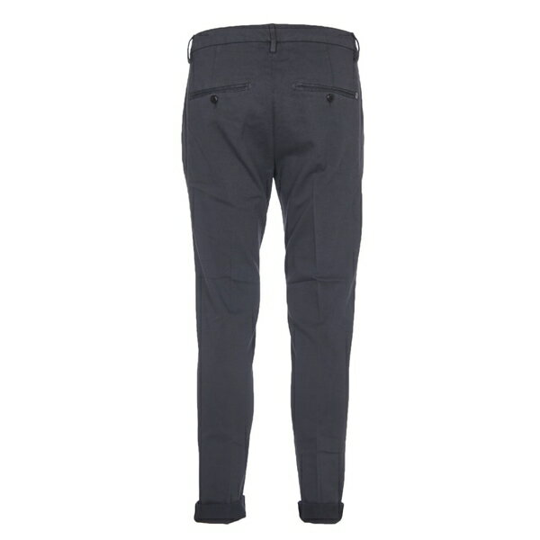 ドンダップ メンズ カジュアルパンツ ボトムス Dondup Dark Grey Gaubert Trousers Darkgrey