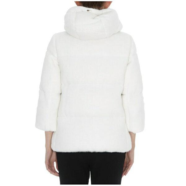ヘルノ レディース ジャケット&ブルゾン アウター Herno Down Jacket Resort Collection White