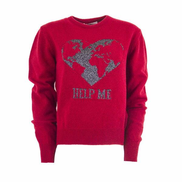 アルベルタ フェレッティ レディース ニット&セーター アウター Alberta Ferretti Red Cashmere Sweater Rosso