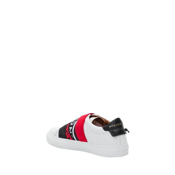 ジバンシー レディース スニーカー シューズ Givenchy Webbing Low Sneakers Bianco