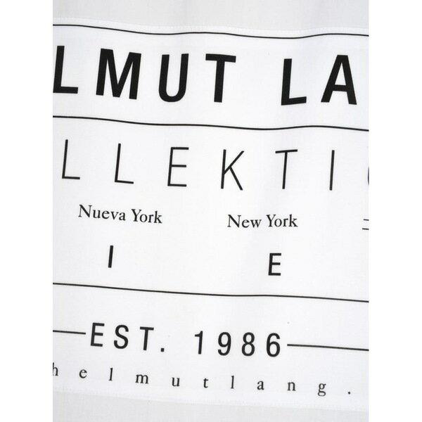 ヘルムート ラング メンズ シャツ トップス Helmut Lang Helmut Lang Rear Logo Patch Shirt WHITE