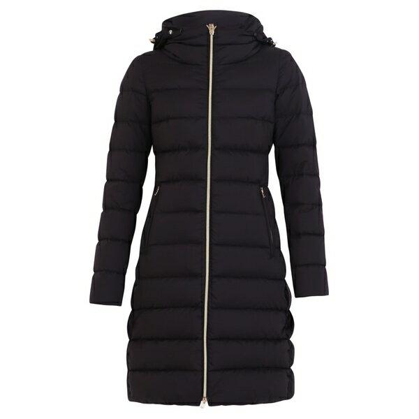 レディースファッション, コート・ジャケット  Herno Zipped Padded Jacket Black